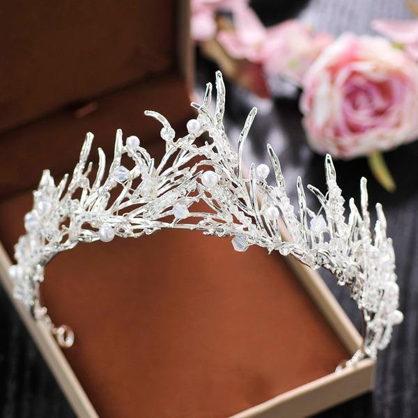 Ladies Beautiful Crystal/Rhinestone/Alloy Tiaras With Rhinestone/Crystal