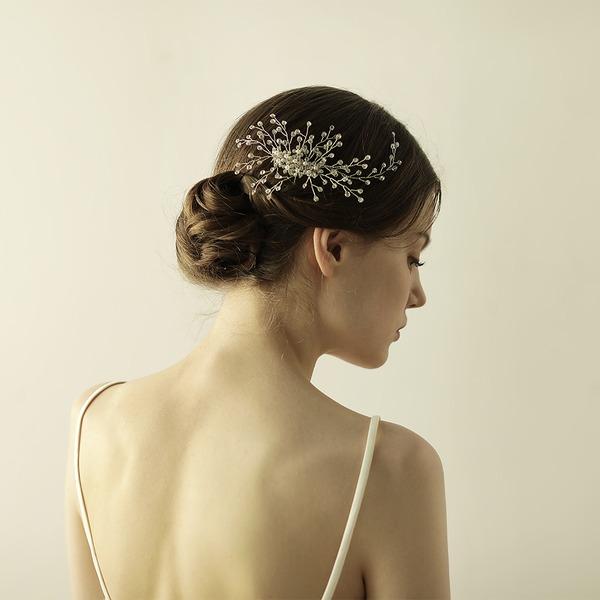 Abbigliamento donna Affascinante Cristallo Pettine & clip di capelli