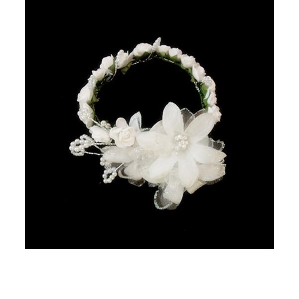 Lapset Lovely Satiini/Paperi Kukkia ja höyhenet/Liikuttunut jossa Pearl