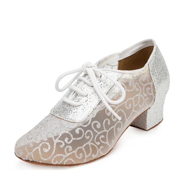 Dla kobiet Tkanina Sandały Swing Ćwiczenia Buty do Tańca