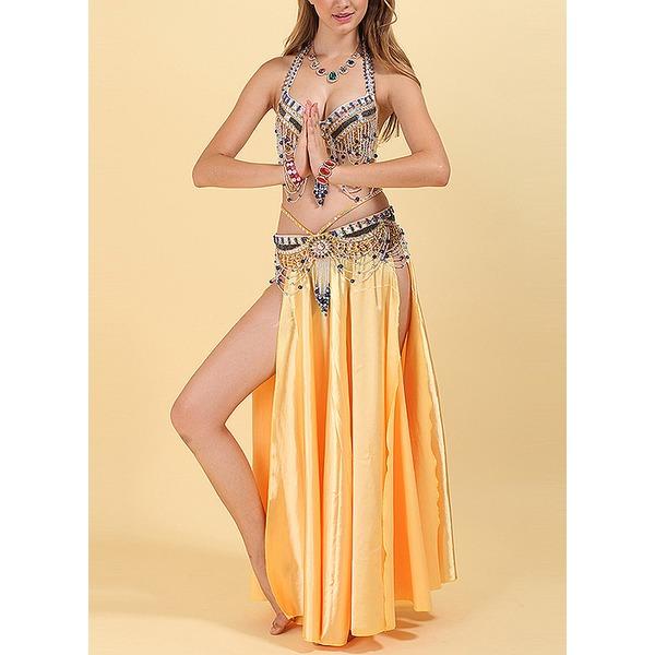 Naisten Tanssivaatteet Polyesteri Vatsatanssi Asusteet