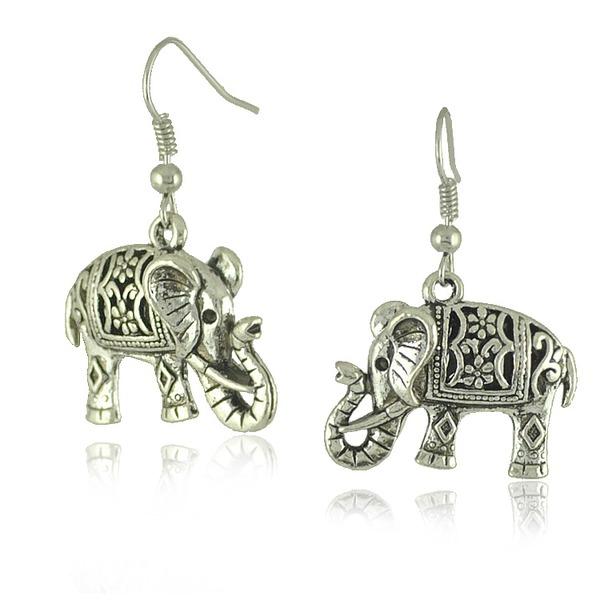 Saint éléphant Dames Boucles d'oreille de mode
