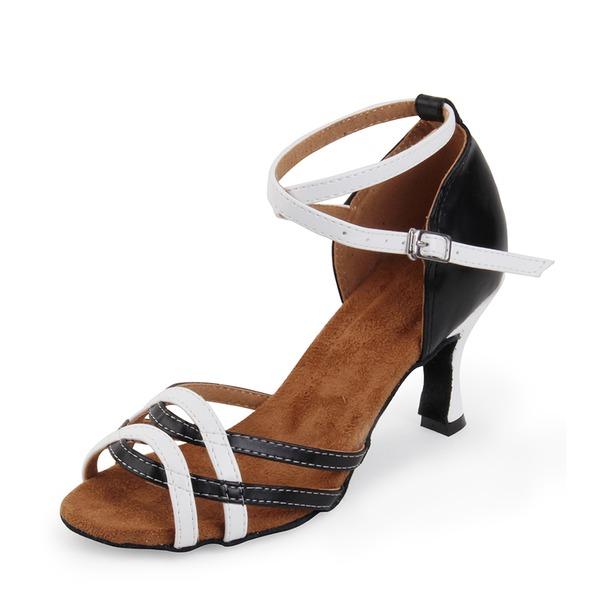 Donna Similpelle Latino Scarpe da ballo
