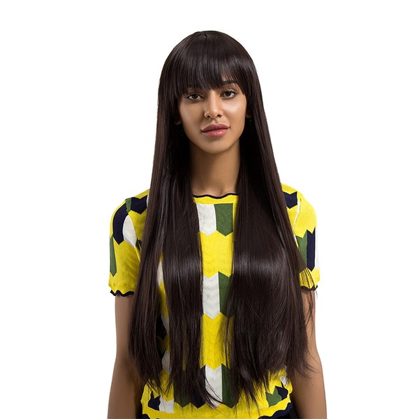 Straight Synthetic Hair Synthetic Wigs