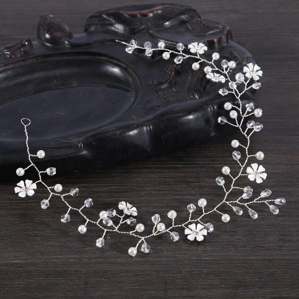 Damer Spesielle Legering/Imitert Perle Pannebånd med Venetianske Perle (Selges i ett stykke)
