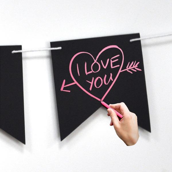 """""""Minä Rakastan Sinua"""" Lovely/Houkutteleva Puinen Wedding Sign (Myyty yhtenä palana)"""