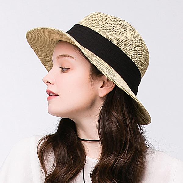 женские восхитительно полиэстер Пляжные / солнцезащитные шлемы