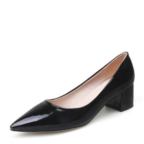 De mujer PVC Tacón ancho Salón Cerrados con Otros zapatos