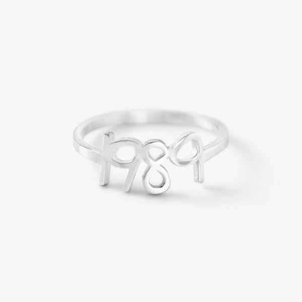 Personalizado Senhoras Único 925 prata esterlina Anéis Ela/Amigos/Menina das flores