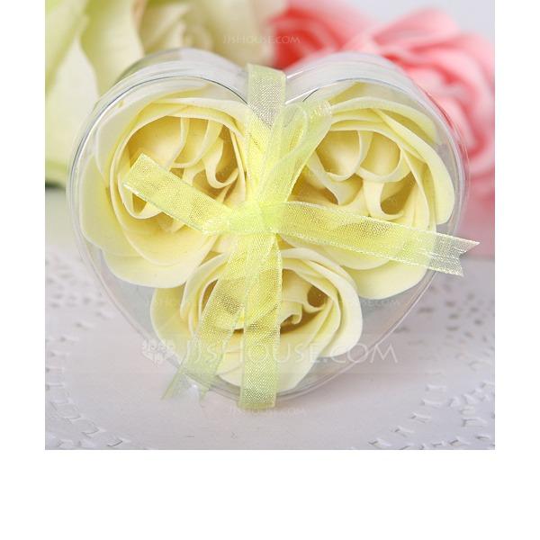 3 Stykker Nydelig Rose Såper