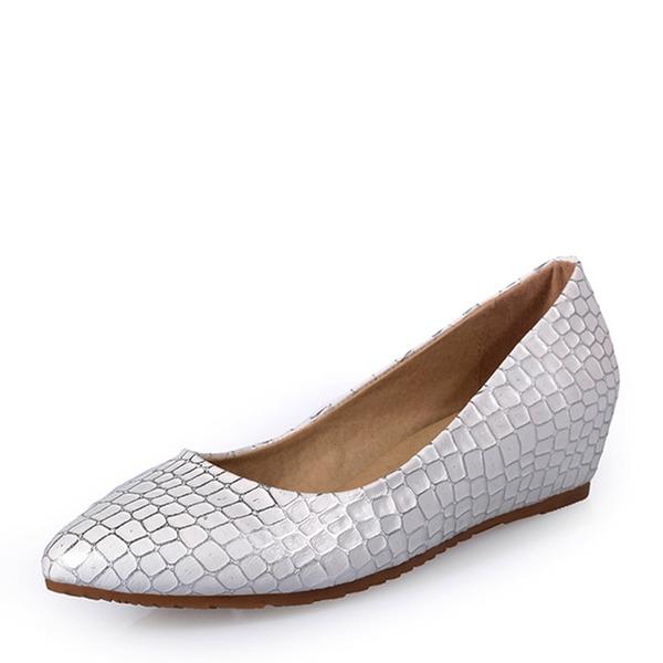 Naisten Keinonahasta Matala heel Matalakorkoiset Suljettu toe jossa Muut kengät