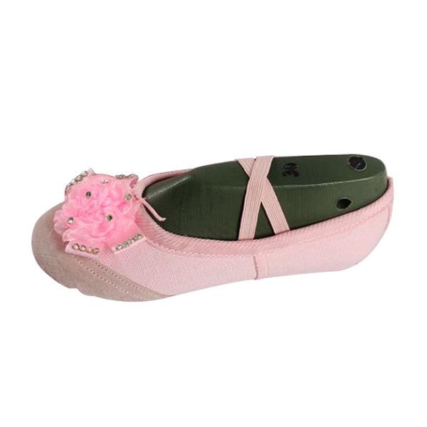 Kids' Canvas Flats Ballet Dance Shoes