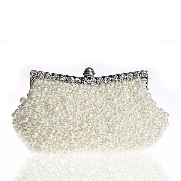Elegant Pearl Clutches/Wristlets/Totes/Bridal Purse/Fashion Handbags/Makeup Bags/Luxury Clutches