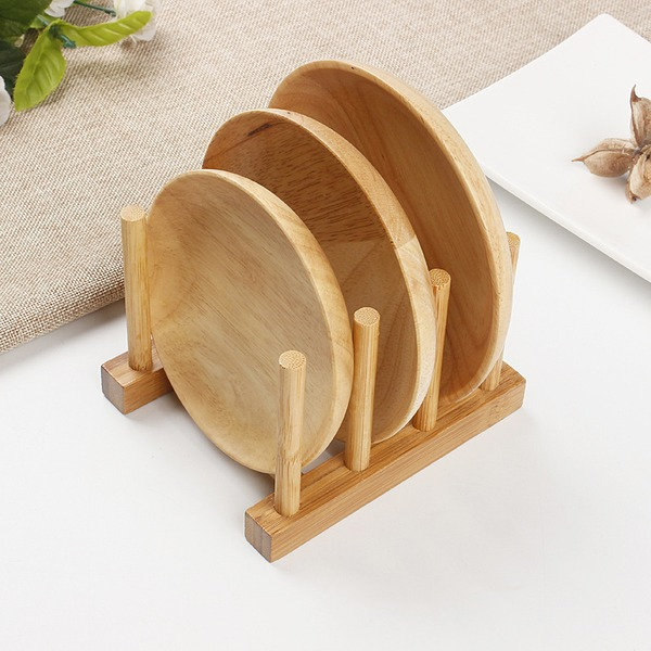 Place mat Wooden Simple Clear Table Centerpieces