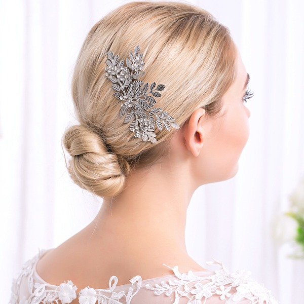 Abbigliamento donna Affascinante lega Pettine & clip di capelli