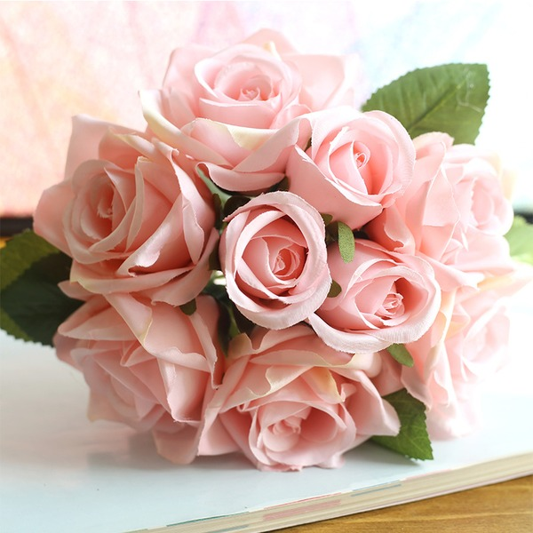 Style Classique Tissu Bouquets de demoiselle d'honneur/Décorations -