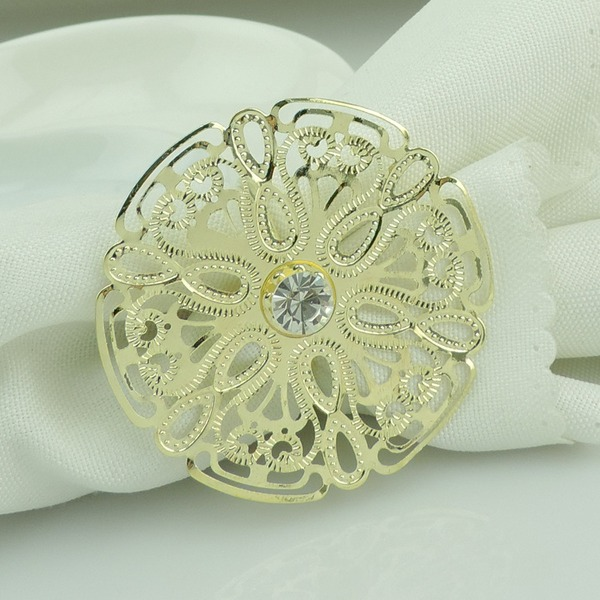 Modern Alloy Napkin Rings