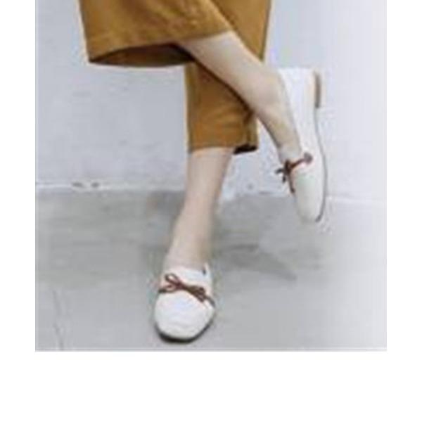 Kadın PU Alçak Topuk Daireler Mary Jane أحذية