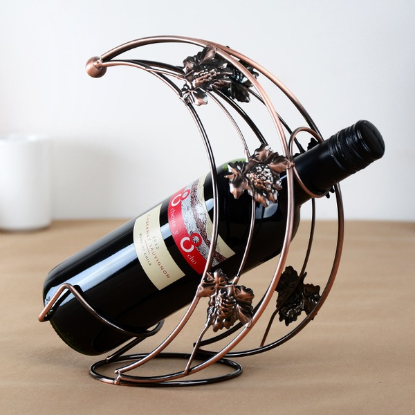 Wine Rack Iron Pretty Beautiful Table Centerpieces