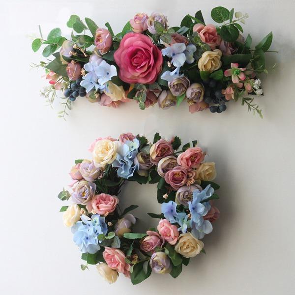 """Ницца/Цветочный дизайн """"Красивый цветок"""" шелковые цветы Искусственные цветы (набор из 2)"""