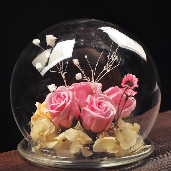 20cm*18cm Attractive Pretty Glass Ornament (Sold in a single piece)