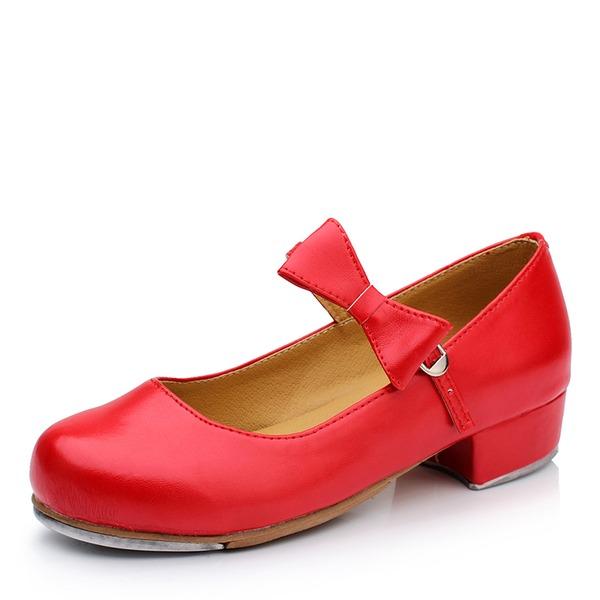 Kvinnor Microfiber läder Platta Skor / Fritidsskor Dansskor Dansskor