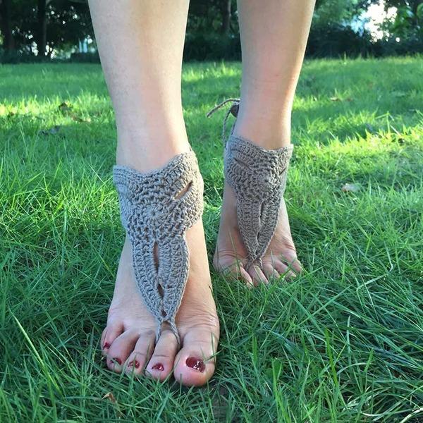Blonder Foot Smykker (Sælges i et enkelt stykke)