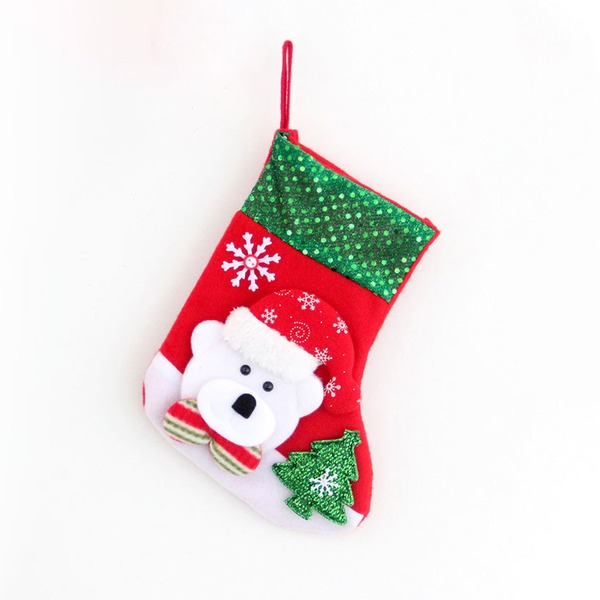 Flanelle Bas Bas De Noël (Vendu dans une seule pièce)