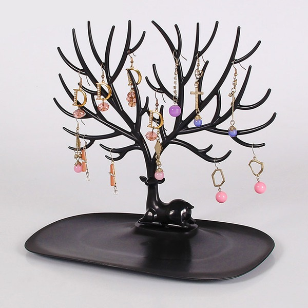 Creative deerhorn tree display rack photo props display accessories to display the jewelry tray rack