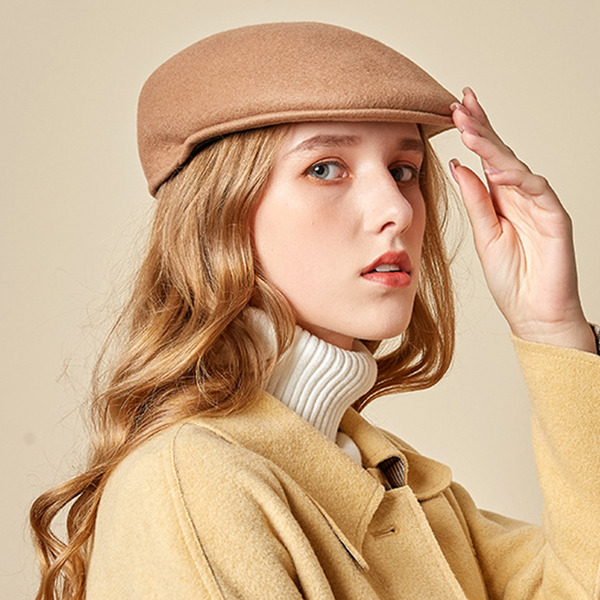 Ladies' Glamourous/Charming/Romantic Wool Beret Hats