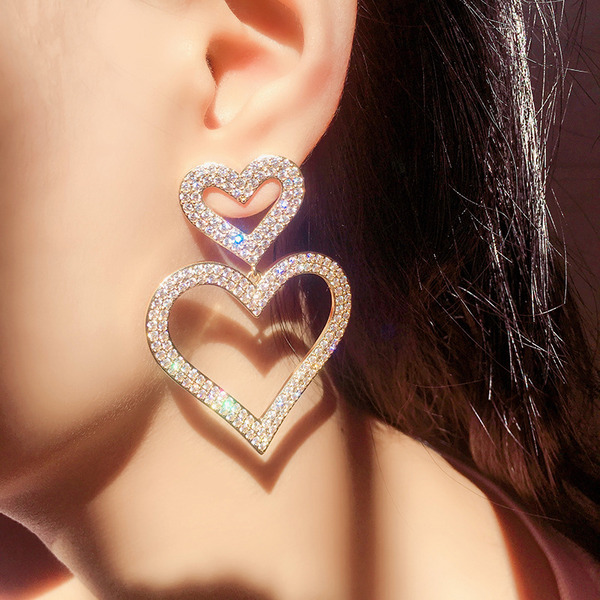 Ladies' Unique Alloy Earrings For Bridesmaid/For Friends/For Her