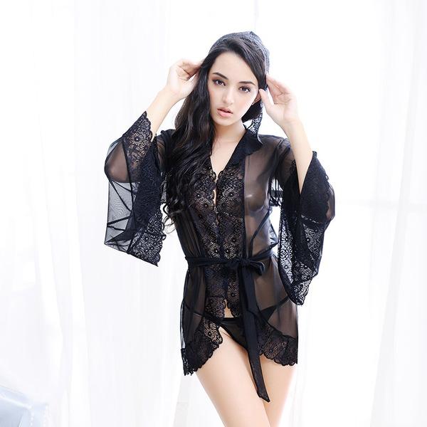Tyll Nuziale/Femminile/Moda Set lingerie