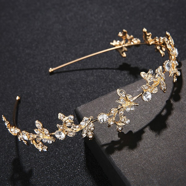 Ladies Exquisite Alloy Tiaras With Crystal