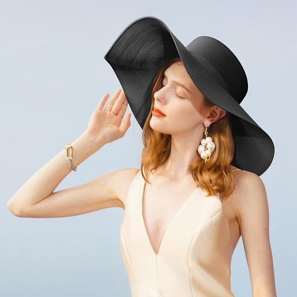 Signore Stile classico/Elegante/Semplice/stile vintage/Artistico Pp Beach / Sun Cappelli