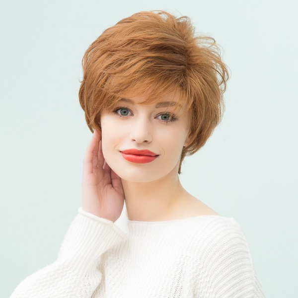 Rett Pixie Human Hair Parykker