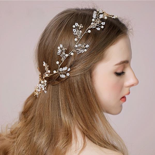 Filles Spécial Cristal/De faux pearl Bandeaux avec Strass/Perle Vénitienne