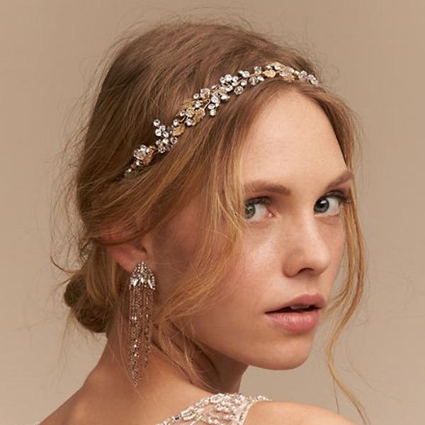 Damen Schöne Legierung Stirnbänder mit Strass (In Einem Stück Verkauft)