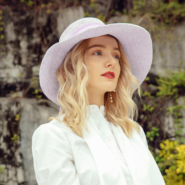 Señoras' Pretty/Fantasía Papiro/Gasa Disquete Sombrero/Derby Kentucky Sombreros