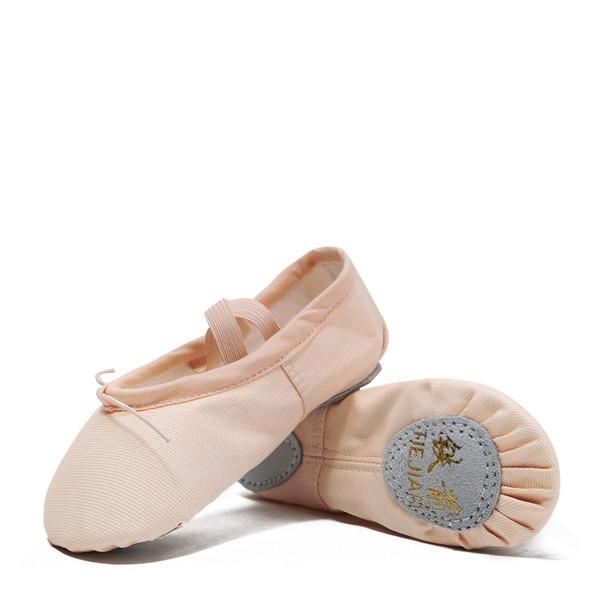 Donna Tela Balletto Scarpe da ballo