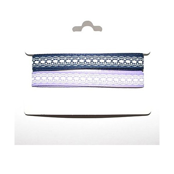 2/5-Inch Satin Ribbon(Two Color One Card)