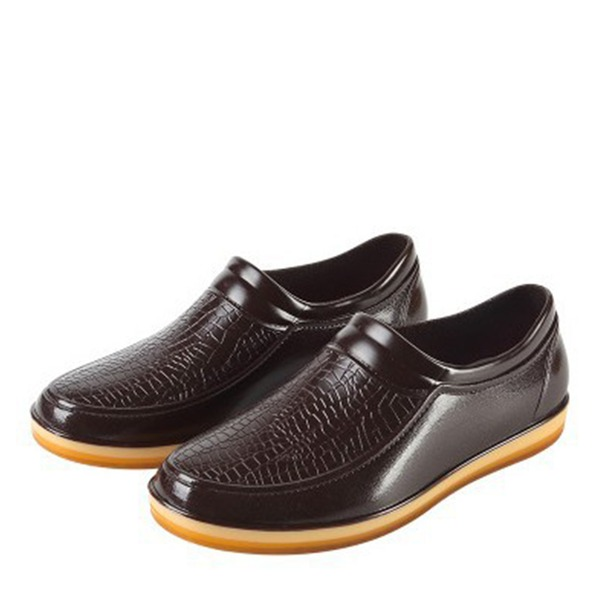 Pánské PVC Rain Boots Casual Pánská obuv Boots