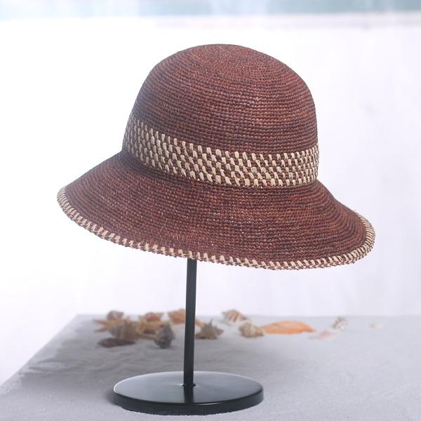 Dames Beau Raphia paille Chapeau de paille