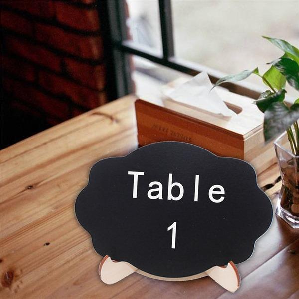 Jednoduchý Praktický Dřevěný Dekorační doplňky/Černá tabule