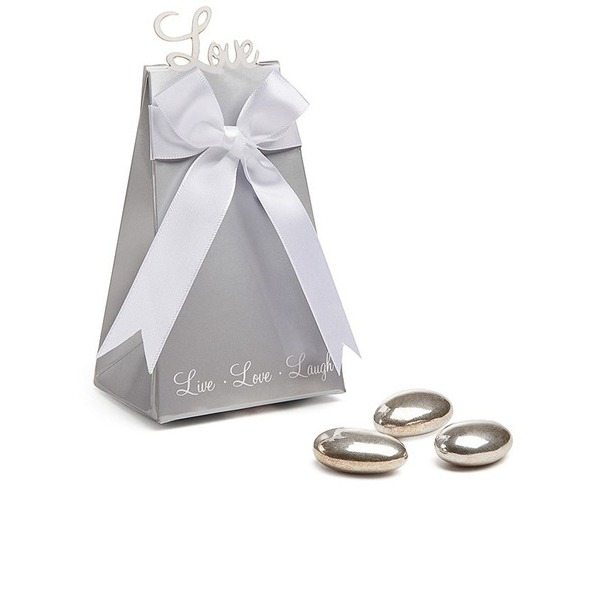 """Express Your Love"" Elegant Icon Favor Box (Set of 12)"