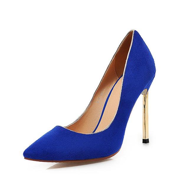 Женщины Мерцающая отделка Высокий тонкий каблук На каблуках Закрытый мыс с Другие обувь