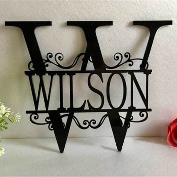 Enkel/Klassisk stil Fin/vintage stil Akryl Wedding Sign