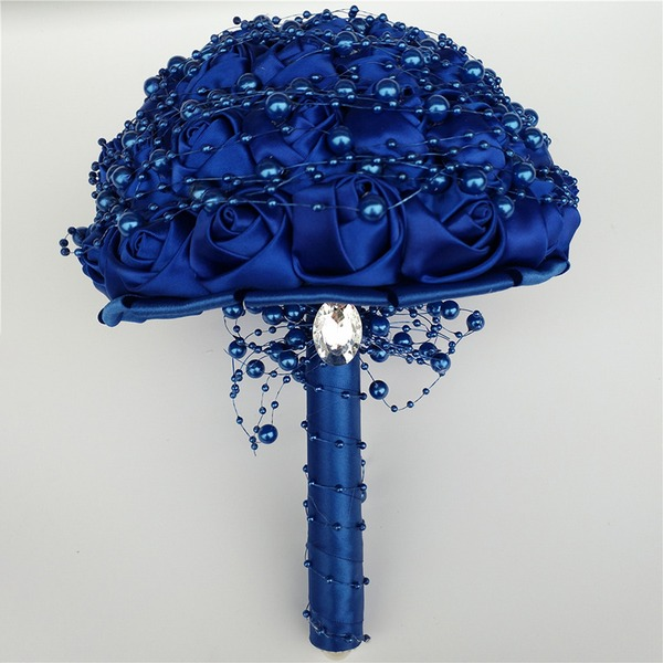 Free-Form Satin Bridal Bouquets/Bridesmaid Bouquets/Flower Gifts (Sold in a single piece) -