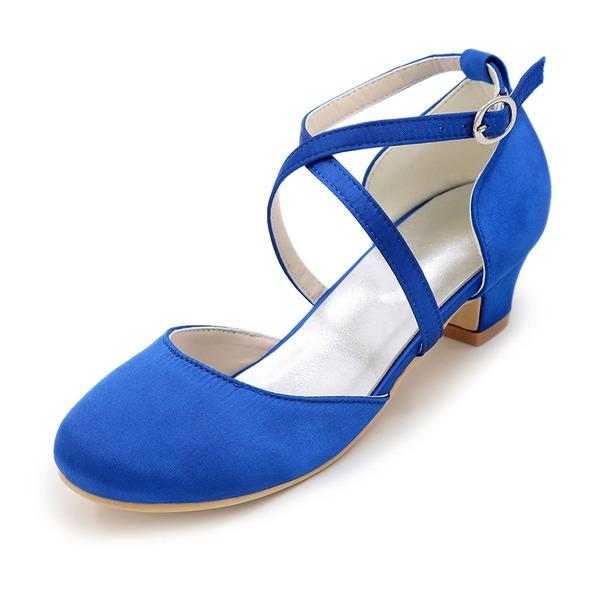 Flicka Stängt Toe Pumps Flower Girl Shoes