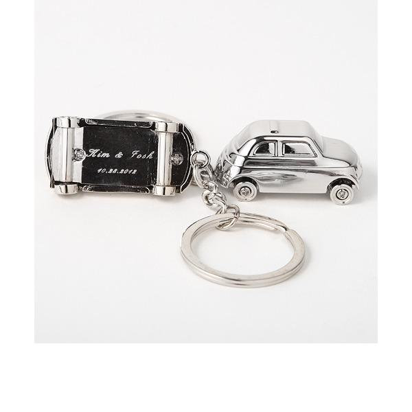 Persoonlijke Auto-ontwerp Zink Legering Sleutelhangers (Set van 4)