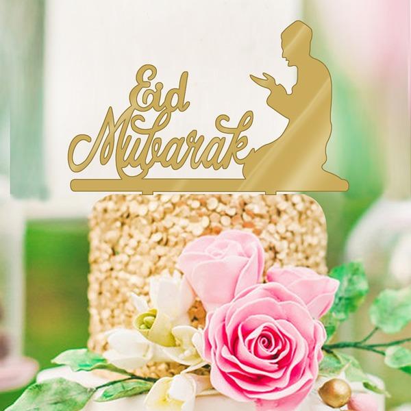 религиозных/Классический акрил Фигурки для торта (Продается в виде единой детали)